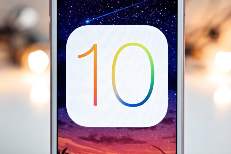 iOS 10 intro