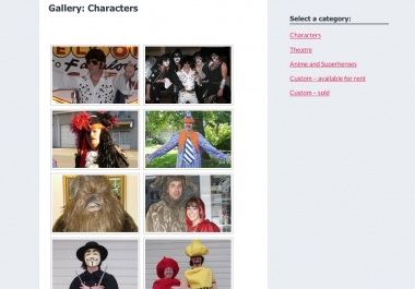 The Costume Bank - gallery